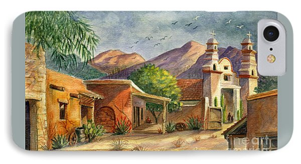 Old Tucson IPhone Case by Marilyn Smith