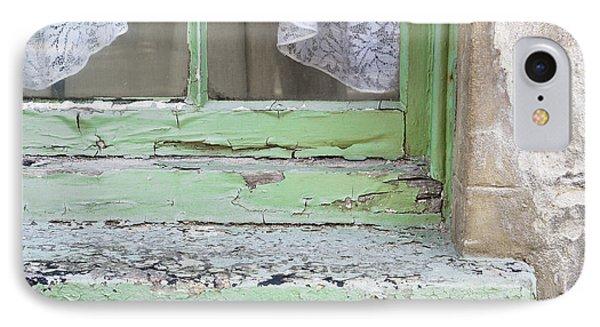 Old Windowsill IPhone Case by Tom Gowanlock