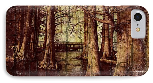 Old World Reelfoot Lake IPhone Case by Julie Dant