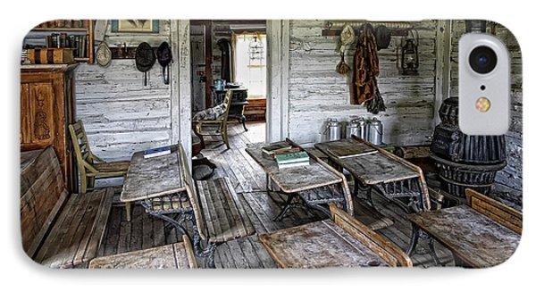 Oldest School House C. 1863 - Montana Territory Phone Case by Daniel Hagerman