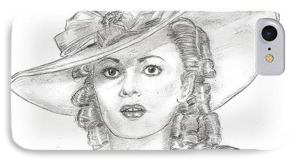 Olivia De Havilland IPhone Case by Steven White