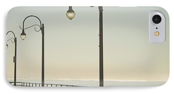 On The Pier IPhone 7 Case by Linda Woods