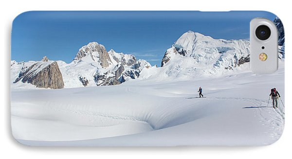 On The Ruth Glacier IPhone Case by Tim Grams