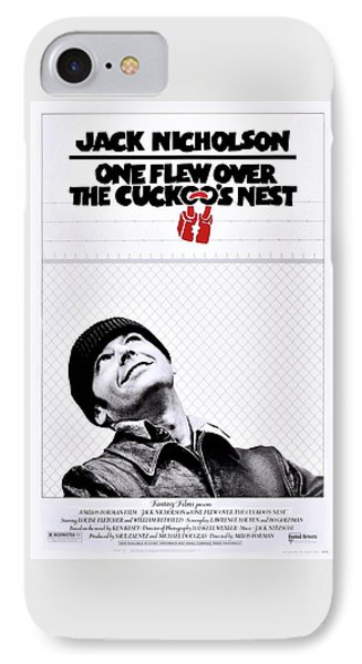 One Flew Over The Cuckoo's Nest IPhone Case by Movie Poster Prints
