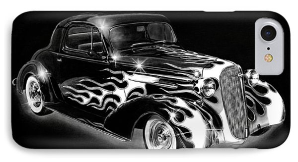 One Hot 1936 Chevrolet Coupe Phone Case by Peter Piatt