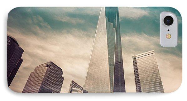 One World Trade Center New York City IPhone Case by Robert Bellomy