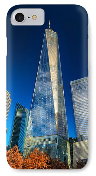 One World Trade Center IPhone Case by Rick Berk