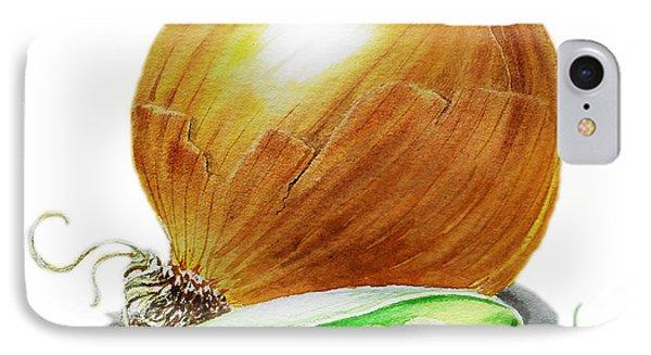 Onion And Peas IPhone Case by Irina Sztukowski
