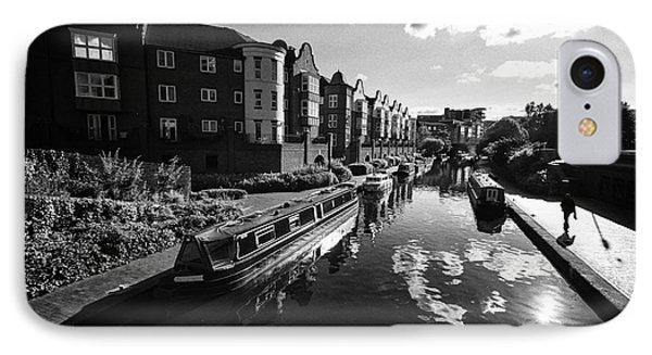 oozells street loop area birmingham canal navigations brindleys old main line Birmingham UK IPhone Case by Joe Fox