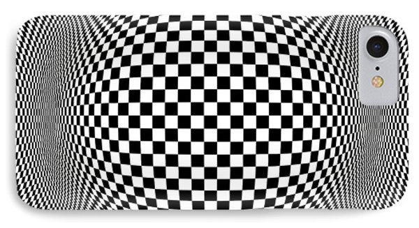 Op Art 1 IPhone Case by Anthony Caruso