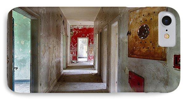 Open Doors - Abandoned Building IPhone Case by Dirk Ercken