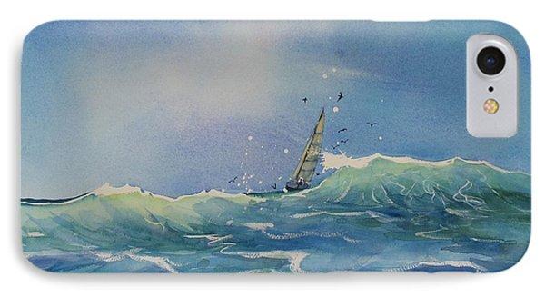 Open Waters IPhone Case by Laura Lee Zanghetti