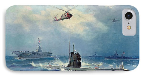 Operation Kama IPhone 7 Case by Valentin Alexandrovich Pechatin