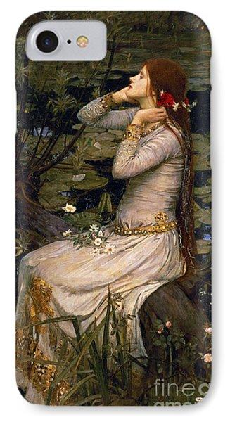 Ophelia IPhone Case by John William Waterhouse