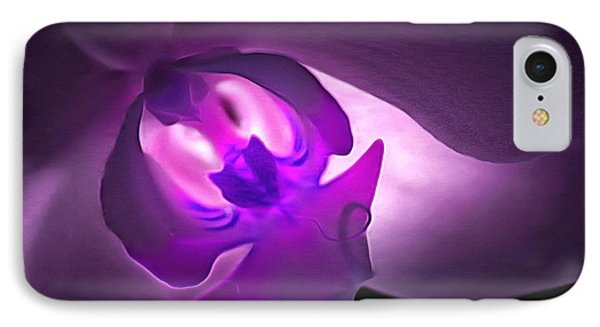 Orchid Of Fantasy IPhone Case by Krissy Katsimbras