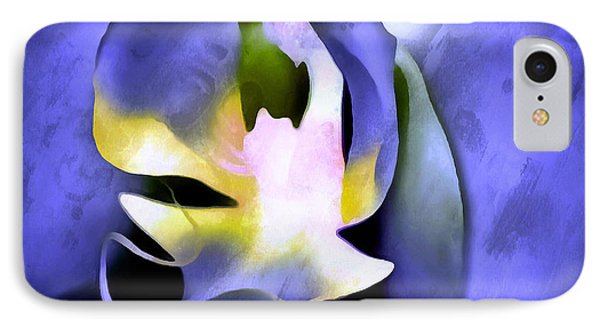 Orchid Of Life IPhone Case by Krissy Katsimbras