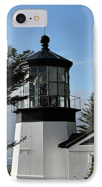 Oregon Lighthouses - Cape Meares Lighthouse IPhone Case by Christine Till