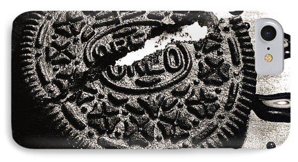 Oreo Cookie IPhone Case by Nancy Mueller