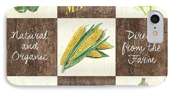 Organic Market Patch IPhone 7 Case by Debbie DeWitt