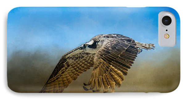 Osprey Over Pickwick IPhone Case by Jai Johnson
