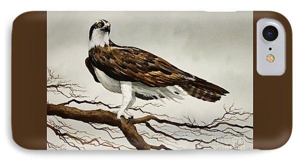 Osprey Sea Hawk IPhone Case by James Williamson
