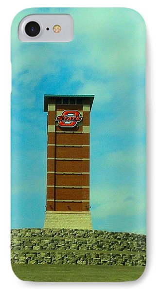 Oklahoma State University Gateway To Osu Tulsa Campus IPhone 7 Case by Janette Boyd