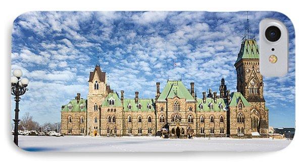 Ottawa Parliament East Block IPhone Case by Jane Rix