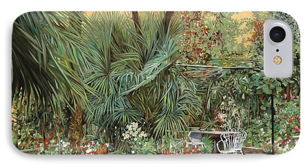 Our Little Garden IPhone 7 Case by Guido Borelli