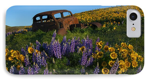 Out To Pasture IPhone Case by Mike Dawson