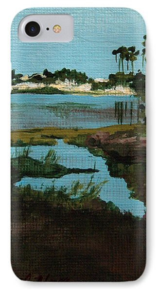 Oyster Lake Phone Case by Racquel Morgan