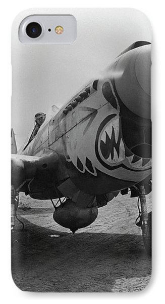 P-40 Warhawk - Flying Tiger IPhone Case by War Is Hell Store