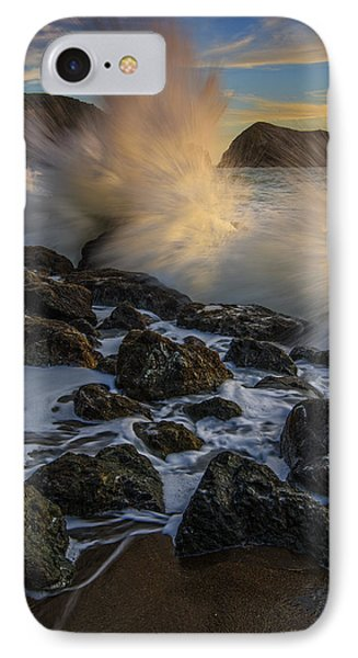 Pacific Fury IPhone Case by Rick Berk