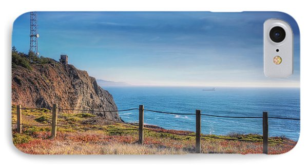 Pacific Ocean View Towards Point Bonita Lighthouse - Marin Headlands  IPhone Case by Jennifer Rondinelli Reilly - Fine Art Photography