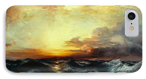Pacific Sunset IPhone Case by Thomas Moran