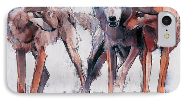 Pack Leaders IPhone Case by Mark Adlington