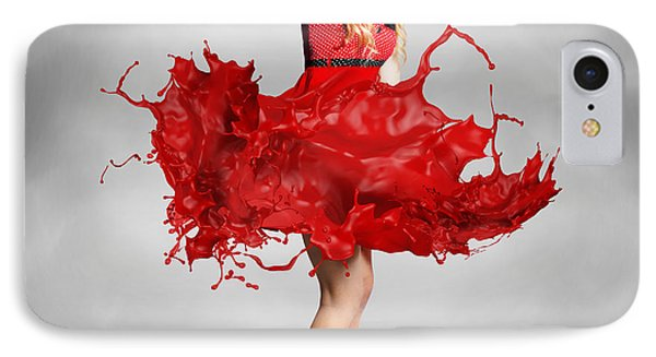 Paint Dress Pin-up IPhone Case by Jorgo Photography - Wall Art Gallery