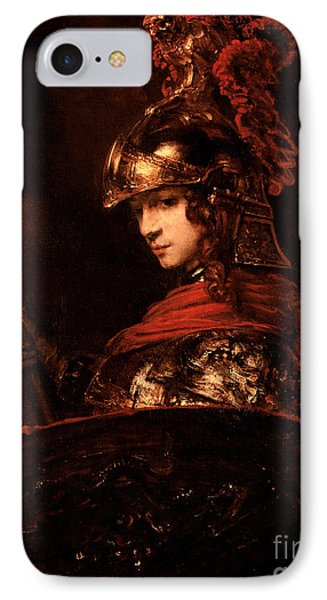 Pallas Athena  IPhone Case by Rembrandt