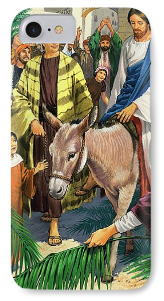 Palm Sunday IPhone Case by Clive Uptton