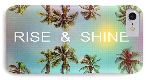 Palm Trees IPhone 7 Case by Mark Ashkenazi