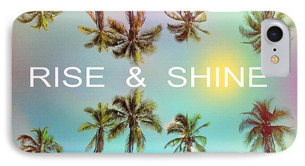 Palm Trees IPhone Case by Mark Ashkenazi