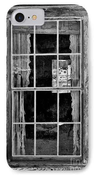 Panes To The Past Phone Case by Sandra Bronstein