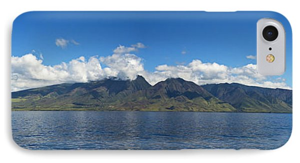 Panoramic West Maui Phone Case by Dave Fleetham - Printscapes