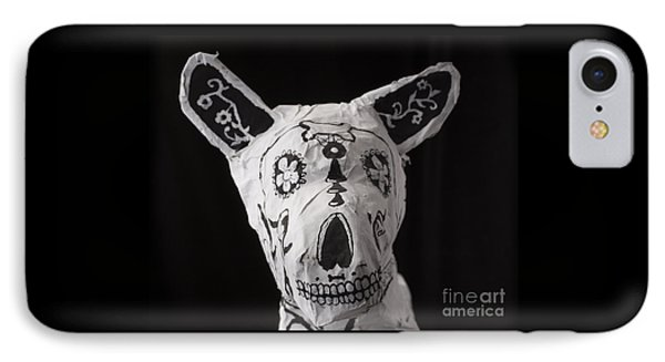 Paper Mache Dog IPhone Case by Caffrey Fielding