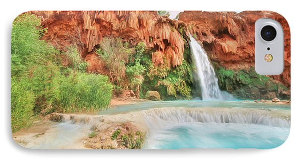 Paradise On Earth IPhone Case by Lori Deiter
