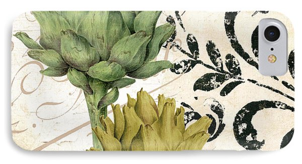Paris Artichokes IPhone Case by Mindy Sommers