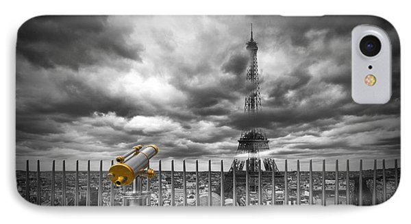 Paris Composing IPhone 7 Case by Melanie Viola