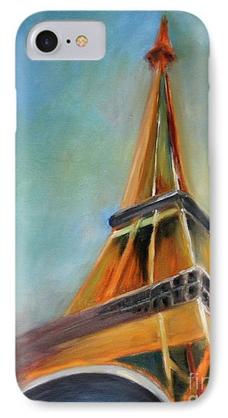 Paris IPhone 7 Case by Jutta Maria Pusl