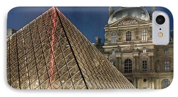 Paris Louvre IPhone 7 Case by Juli Scalzi
