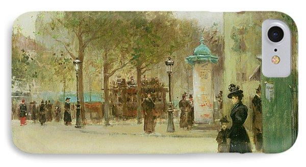 Paris Phone Case by Paul Cornoyer