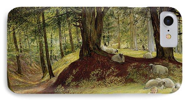 Parkhurst Woods IPhone Case by Richard Redgrave